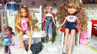 Barbie Oyuncak Bebekler Evcilik Oynuyor Kardeşi Rahat Vermiyor | Oyuncak Butiğim