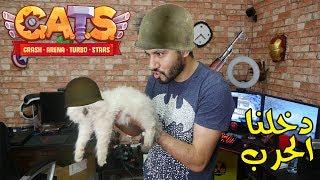 دخلنا الحرب مع القط ديفو