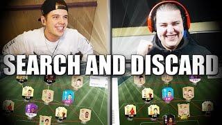 ENORM SPANNENDE SEARCH AND DISCARD VS FIFAZLATANNL!! FIFA 17 NEDERLANDS