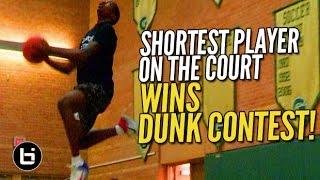The SHORTEST PLAYER WINS Metroplex24 Dunk Contest! Heart Over Height!