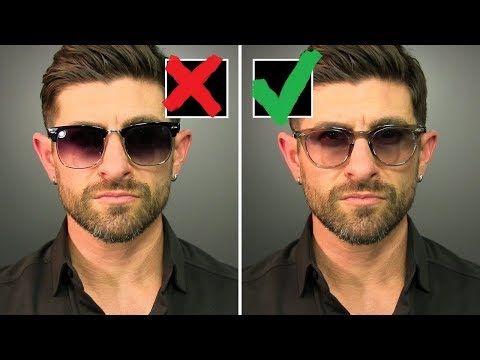 3 Reasons You re Wearing The WRONG Sunglasses & Frames NOT Your Face Shape