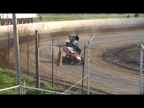 305 Sprint Car Heat 1 @ 34 Raceway 04/15/17