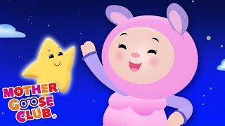 Twinkle Star Song Nursery Rhymes for Children | Baby playing with Stars Mother Goose Club Playground
