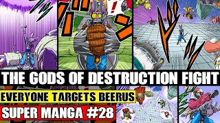 BEERUS FIGHTS EVERY GOD OF DESTRUCTION! Dragon Ball Super Manga Chapter 28 Spoilers