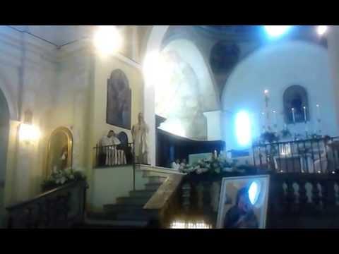 S. Marina (Sa): Mons. De Luca,Cav. De Lisa, Santa messa di Pasqua,31 Marzo 2013.
