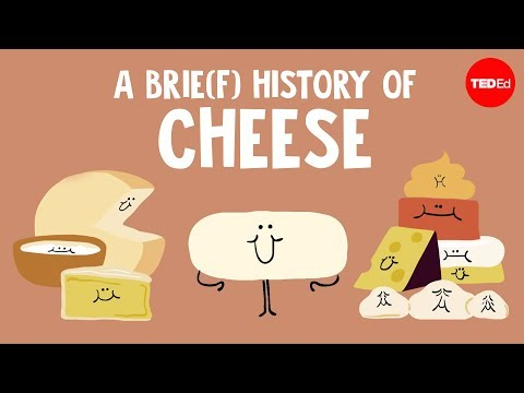 A brie f history of cheese Paul Kindstedt