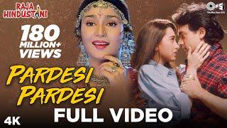 Pardesi Pardesi - Video Song | Raja Hindustani | Aamir Khan, Karisma Kapoor | Udit N, Alka Y