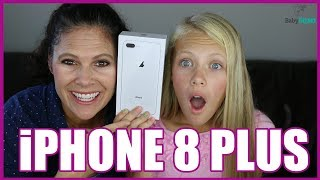 NEW IPHONE 8 PLUS UNBOXING!!
