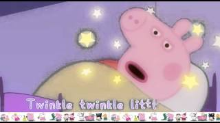 Peppa Pig Twinkle, Twinkle, Little Star Song - Nursery Rhymes for Kids