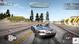 Need For Speed Hot Pursuit (2010) - Memorial Valley - Double Jeopardy 720p PC Gameplay with FPS
