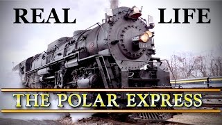 The Real Polar Express - I'm Going To Ride It! (Plus History Of The Polar Express)