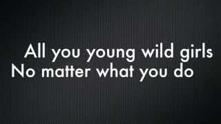 Bruno Mars Young Girls Lyrics