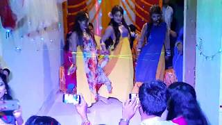 Adrita with Friends|Magic Mamoni | Mahiya Mahi |Agnee 2|Holud Dance#1 in Bangladesh 2017|
