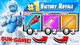 SWORD Gun GAME *NEW* Game Mode in Fortnite Battle Royale