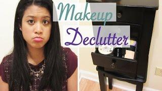 Makeup Collection DECLUTTER | Face Makeup