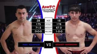 ArmFC-16.Iman Aghapoor vs Gegham Vardanyan HD