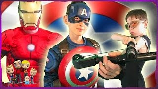Captain America Civil War Kids Parody