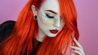 Dying my Hair Orange / Red | Colorista Washout ☆ Evelina Forsell