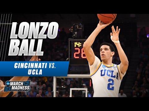Cincinnati vs. UCLA Lonzo Ball drops 18 for Bruins