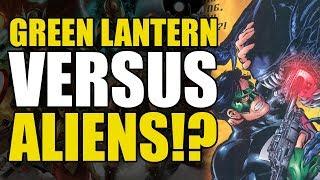 Green Lantern vs The Xenomorphs! (Green Lantern/Aliens Crossover Comic)