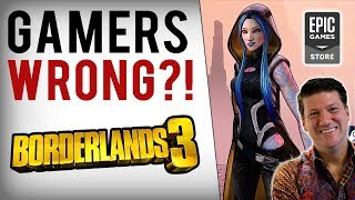 Randy Pitchford Again SLAMS Steam, Explains Support For Borderlands 3 Epic Store Exclusivity