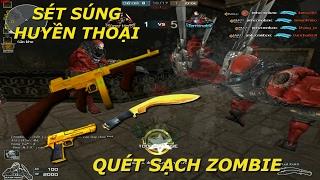 Sét Súng Huyền Thoại Săn Zombie - Tiến Xinh Trai Zombie V4