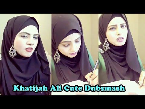 Malaysian Tamil Girl Khatijah Dubsmash | Cute Expressions | Tamil Girls Dubsmash |