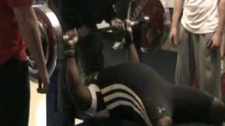 Gary Dada 200kg Bench