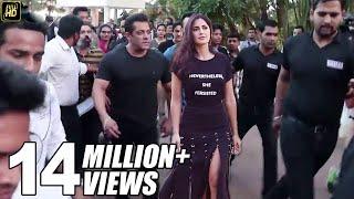Salman Khan's GRAND ENTRY With Girlfriend Katrina Kaif At Bina Kak Book Launch
