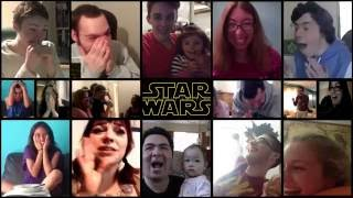 Star Wars 7: The Force Awakens - Trailer 2 (Reactions Mashup)