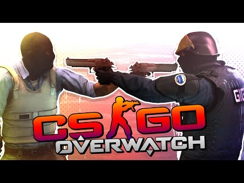 HACKERS VS HACKERS! (CS:GO Overwatch Case Funny Moments)