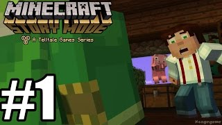 Minecraft Story Mode Episode 1 - Gameplay Walkthrough Part 1 [ HD ] No Commentary