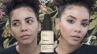 THE ORDINARY $7 FOUNDATION REVIEW & DEMO | CAMILLE COLLAZO