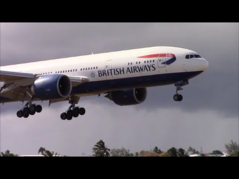 March Break Plane Spotting at Barbados Grantley Adams International Airport (BGI)