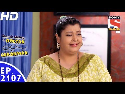 Taarak Mehta Ka Ooltah Chashmah - तारक मेहता - Episode 2107 - 3rd January, 2017