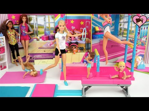 Xxx Mp4 Barbie Dolls First Gymnastics Competition With Sister Chelsea Toddlers 3gp Sex