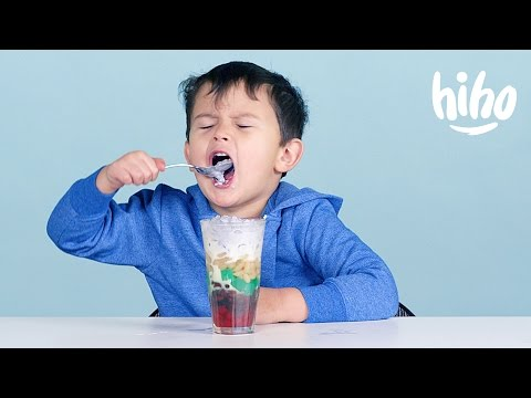 More Filipino Food American Kids Try Food from Around the World Ep 12 Kids Try Cut