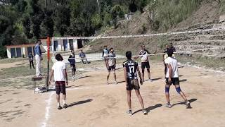 Local Tournament Volleyball Match Video HD