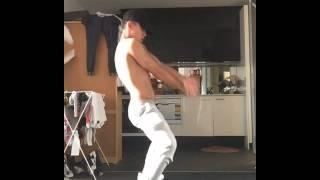 Liam Ferrari - dancing to Alex aiono.