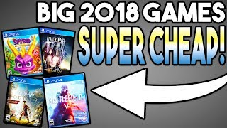 Awesome PS4 Games Sale! Big 2018 Games Super Cheap!