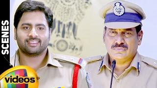 Nara Rohit Superb Punch on Ahuti Prasad | Rowdy Fellow Telugu Movie Full Scenes | Vishakha Singh