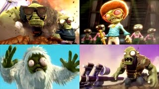 Plants vs. Zombies: Garden Warfare - Full Movie / All Cinematic Cutscenes (2014)