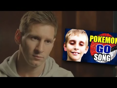 Lionel Messi reacts to Pokémon Go Song