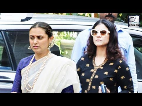 Xxx Mp4 Kajol Finally Meets Rani Mukherjee After Her Father S Sad Demise LehrenTV 3gp Sex