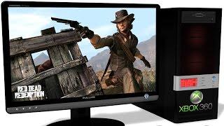 XENIA Xbox 360 Emulator - Red Dead Redemption (2010). OpenGL improvement. Test run on PC #3