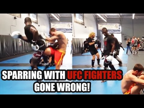 Sparring With UFC Fighters GONE WRONG Top 5 Compilation Part 1