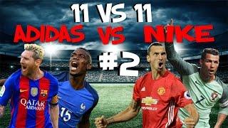 11 vs 11 | #2 Jugadores Botas Adidas vs Jugadores Botas Nike