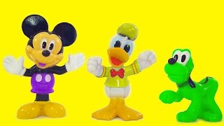 Mickey Mouse Clubhouse Color Mix-Up Finger Family Toy Game Nursery Rhymes