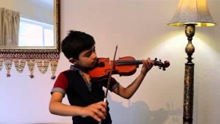 Little fingers on Violin: Whistle Baja - 'Heropanti'/Hero Theme Violin Solo