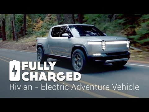 Rivian Electric Adventure Vehicle Fully Charged